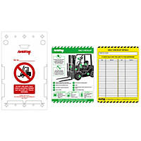 Scafftag  Forklift Tag Kit