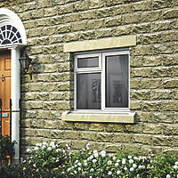 Jeld-Wen Stormsure Right-Hand Opening Double-Glazed Casement White Painted Timber Window 1195 x 895mm