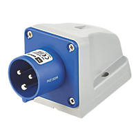 MK 16A 2P+E Surface-Mounted Surface Inlet 200-250V