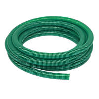 Reinforced Suction / Delivery Hose Green 10m x 1¼""