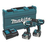 Makita DLX2221ST 18V 5.0Ah Li-Ion LXT Brushless Cordless Twin Pack
