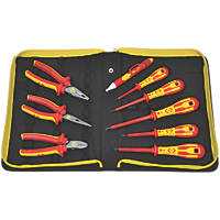 C.K  Phillips  VDE Pliers & Screwdriver Set 9 Pieces