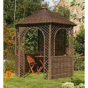 rowlinson willow gazebo x x gazebos. Black Bedroom Furniture Sets. Home Design Ideas