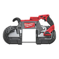 Milwaukee M18 CBS125-0 FUEL 125mm 18V Li-Ion RedLithium Brushless Cordless Deep Cut Bandsaw - Bare