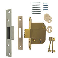 ERA Satin BS 5-Lever Mortice Deadlock 64mm Case - 44mm Backset