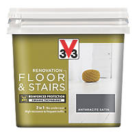 V33 Floor & Stair Paint Anthracite Grey 750ml