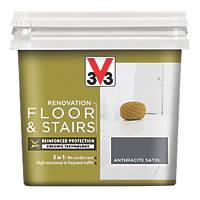 Liberon V33 Floor & Stair Paint Anthracite Grey 750ml