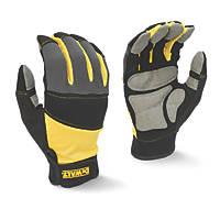 DeWalt DPG215L EU General Purpose Gloves Black / Yellow / Grey Large