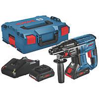 Bosch GBH 18 V-20 2.6kg 18V 4.0Ah Li-Ion Coolpack Brushless Cordless SDS Plus Drill