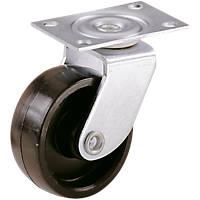Select Single-Wheel Castor Plates 32mm 2 Pcs