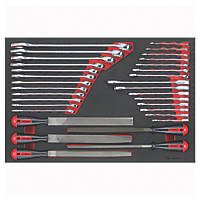 Teng Tools Spanner & File Set 32 Pieces