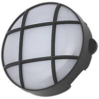 Coast CZ-34024-BLK Round LED Bulkhead Black 8W