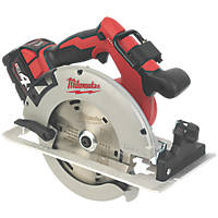 Milwaukee M18BLCS66-401B 190mm 18V 4.0Ah Li-Ion RedLithium Brushless Cordless Circular Saw