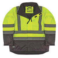 "Helly Hansen  Insulated Hi-Vis Jacket Yellow/Charcoal Large 42½"" Chest"