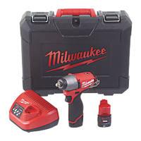 Milwaukee M12CIW38-202C FUEL 12V 2.0Ah Li-Ion RedLithium Brushless Cordless Impact Wrench