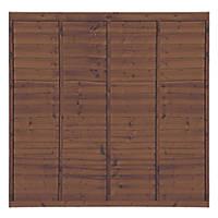 Grange Professional Lap Fence Panels 1.83 x 1.8m 5 Pack