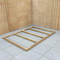 Forest Shed Base Self-Assembly 7' x 5'