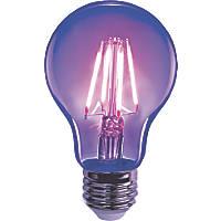 Sylvania Helios Chroma ES A60 Blacklight LED Light Bulb 4W
