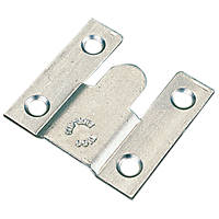 Flush Mounts Zinc-Plated 35 x 37 x 3.75mm 10 Pack