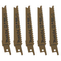 Makita B-20432 Reciprocating Saw Blades 100mm 5 Pack