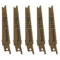 Makita  B-20432 Reciprocating Saw Blades 100mm 5 Pack
