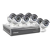 Swann SWDVK-845508-UK 8-Channel CCTV & DVR Kits & 8 Cameras