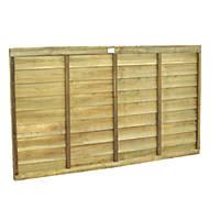 Forest Superlap Fence Panels 1.82 x 0.9m 9 Pack