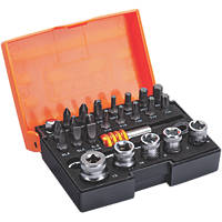 "Bahco  1/4"" Drive Socket Set 26 Pieces"