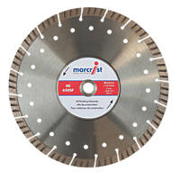 Marcrist  Concrete/Stone Segmented Turbo Diamond Blade 300 x 20mm
