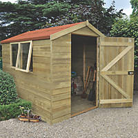 Forest 6' x 8' (Nominal) Apex Tongue & Groove Timber Shed