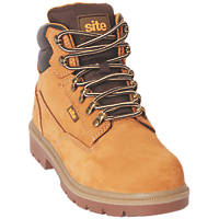 Site Skarn  Ladies Safety Boots Honey Size 8