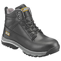 JCB Workmax   Safety Boots Black Size 8