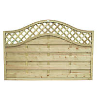 Forest Prague Fence Panel Fence Panels 1.8 x 1.2m 20 Pack
