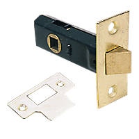 Electro Brass Tubular Latch 83mm Case - 62mm Backset