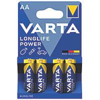 Varta  AA Batteries 4 Pack