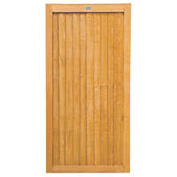 Forest  Timber Gate 920 x 1820mm Golden Brown