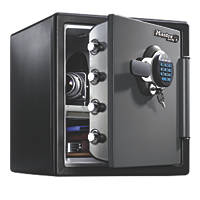 Master Lock  Electronic Combination Water-Resistant 2-Hour Fire Safe 33.6Ltr