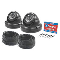 Swann SWPRO-H851PK2 CCTV Dome Cameras 2 Pack