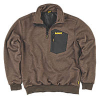 "DeWalt Brunswick Windproof Jumper Olive Medium 39-40"" Chest"