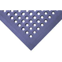 COBA Europe Worksafe Anti-Slip Floor Mat Blue 1.5 x 0.9m