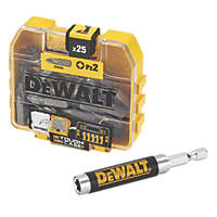 DeWalt Screwdriver Bit Box PZ2 x 25mm 25 Pcs