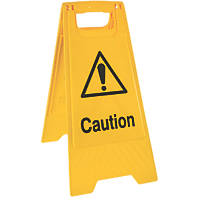 """Caution"" A-Frame Sign 600 x 300mm"