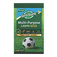 Westland Gro-Sure Multi-Purpose Lawn Seed 120m² 3.6kg