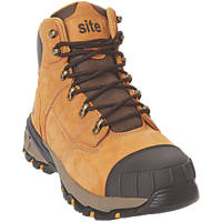 Site Tufa   Safety Boots Honey Size 8
