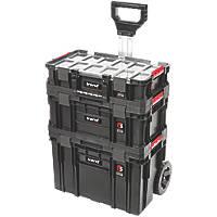 Trend  Modular Storage Compact Cart Set 3 Pcs