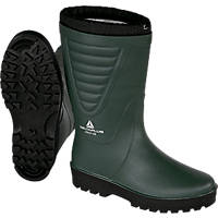 Delta Plus FROSTOBVE43   Non Safety Wellies Green-Black Size 9