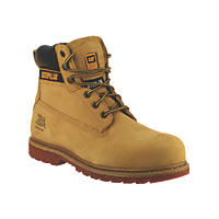 CAT Holton S3   Safety Boots Honey Size 12