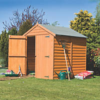Shire  6' x 6' (Nominal) Apex Overlap Timber Shed