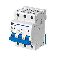 Chint NB1 3A TP Type C 3-Phase MCB