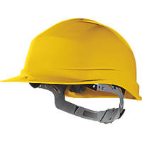Delta Plus Zircon 1 Essential Slip Ratchet Safety Helmet Yellow